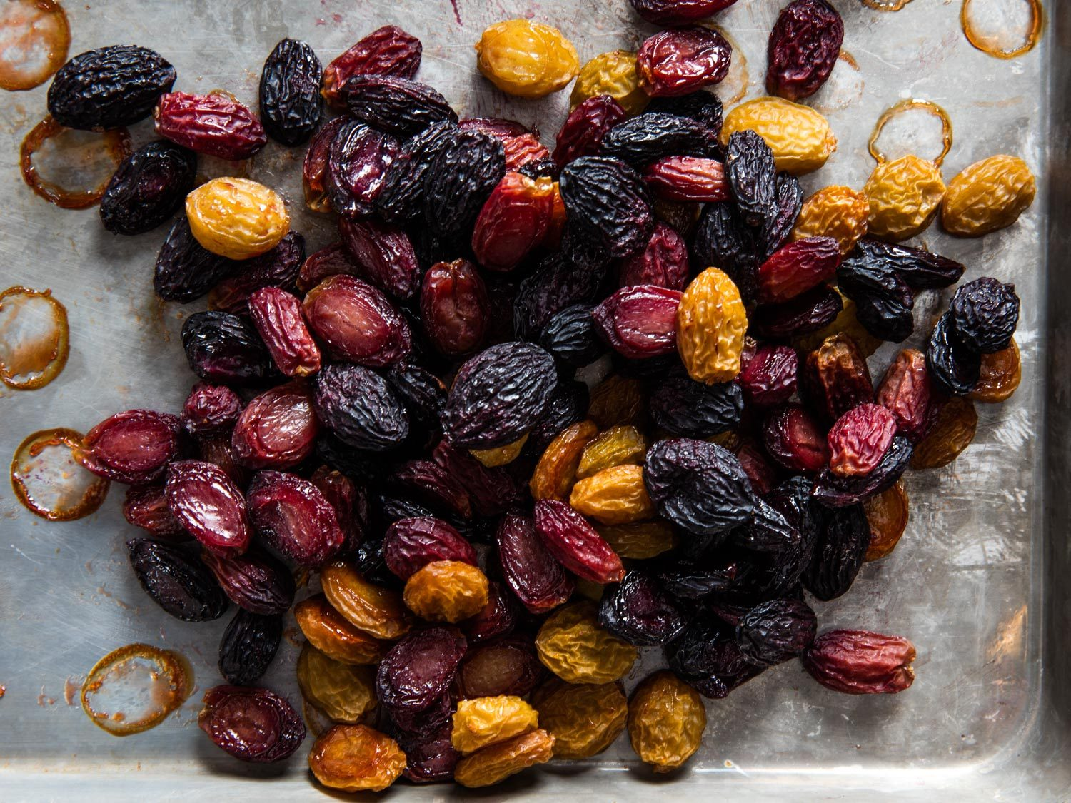 oven dried grapes